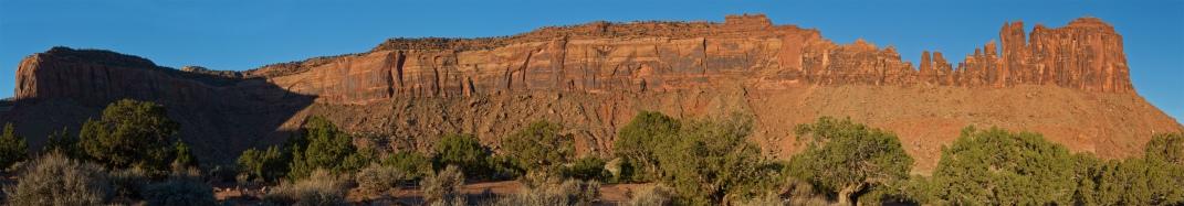 Bridger Jack mesa morning panorama.
