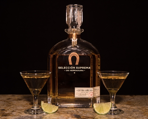 Only the best tequila for New Year's Eve.