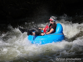 Tube to Work Day, July 2017, Boulder CO