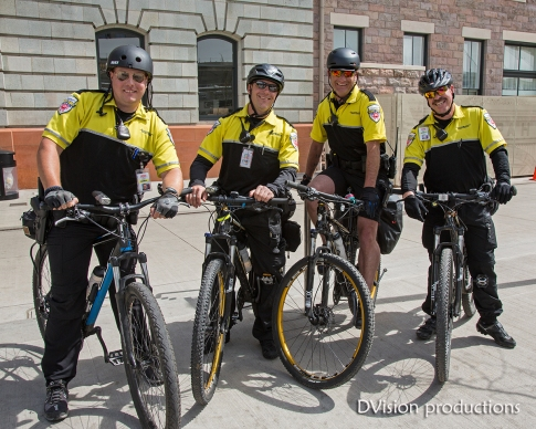 Bike Police, Denver CO.