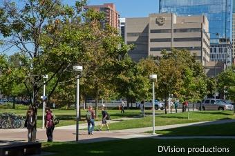 UC Denver campus shot.