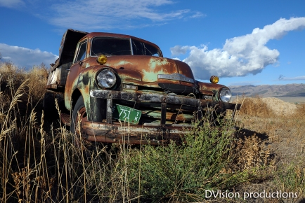 Old truck in Almo Idaho.