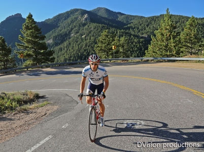 Riding on Flagstaff Mountain, Boulder CO