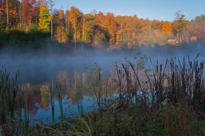 Kentucky fall morning.