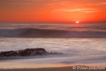 Santa Cruz sunset, CA.