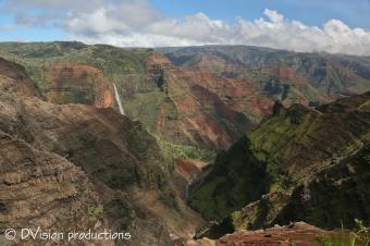 Waimea Canyon, Kauai Hawaii.