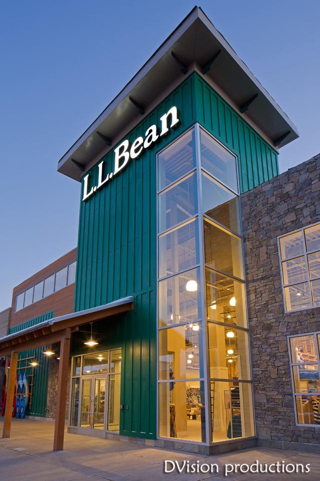 L.L. Bean store, Denver CO.