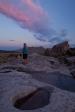 City of Rocks Idaho sunset.